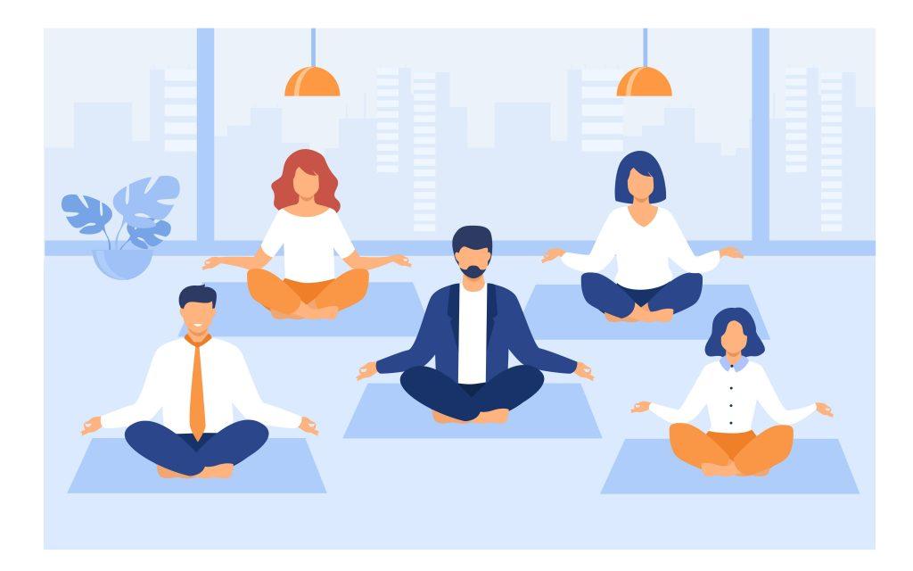 Aula de Meditação