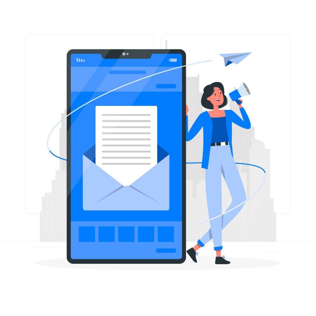 E-mail em dia